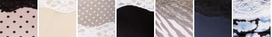 Sassy Pearl Blush Dot With Black