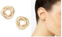 Macy's Love Knot Stud Earrings in 14k Gold