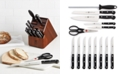 J.A. Henckels Zwilling Twin Gourmet 15-Pc. Knife Set, Created for Macy's
