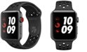 Apple Watch Series 3 Apple Watch Nike+ Series 3 GPS + Cellular, 42mm Space Gray Aluminum Case with Anthracite/Black Nike Sport Band