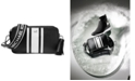 Michael Kors Logo Pebble Leather Camera Bag