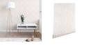 Deny Designs Little Arrow Design Co Arcadia Herringbone in Blush 2'x10' Wallpaper