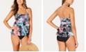 Island Escape Tiered Tankini Top & Bikini Bottoms, Created for Macy's