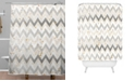 Deny Designs Iveta Abolina Chevron Confetti Shower Curtain