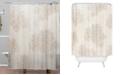 Deny Designs Iveta Abolina Beach Day Beige Shower Curtain