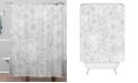 Deny Designs Iveta Abolina Foggy Surf Shower Curtain