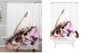 Deny Designs Iveta Abolina Black Cherry Shower Curtain