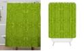 Deny Designs Iveta Abolina Green Terrace Shower Curtain