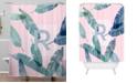 Deny Designs Iveta Abolina Peaches N Cream R Shower Curtain