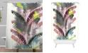 Deny Designs Iveta Abolina Tequila Sunrise Shower Curtain