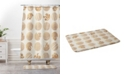 Deny Designs Iveta Abolina Gray Maze Bath Mat