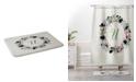 Deny Designs Iveta Abolina Silver Dove Christmas U Bath Mat