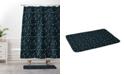 Deny Designs Iveta Abolina Nordic Olive Green Bath Mat