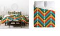 Deny Designs Holli Zollinger Gypsy Multi Twin Duvet Set