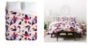 Deny Designs Holli Zollinger Bright Origami Queen Duvet Set