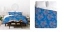 Deny Designs Holli Zollinger Boho Floral Twin Duvet Set