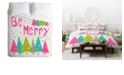 Deny Designs Heather Dutton Be Merry Twin Duvet Set