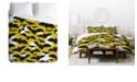 Deny Designs Heather Dutton Night Watch Glow Twin Duvet Set