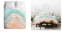 Deny Designs Iveta Abolina Spring Oyster Queen Duvet Set