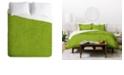 Deny Designs Iveta Abolina Green Terrace II Twin Duvet Set