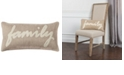 """Rizzy Home 11"""" x 21"""" Typography Poly Filled Pillow"""