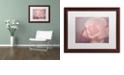 "Trademark Global Cora Niele 'Tenderness' Matted Framed Art, 16"" x 20"""