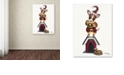 "Trademark Global Jenny Newland 'Joker 1' Canvas Art, 24"" x 32"""
