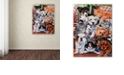 """Trademark Global Jenny Newland 'Country Pups and Kittens II' Canvas Art, 14"""" x 19"""""""