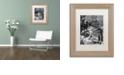 "Trademark Global Nick Bantock 'Dodgers Dream' Matted Framed Art, 11"" x 14"""