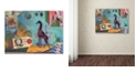 "Trademark Global Nick Bantock 'Giraffe' Canvas Art - 18"" x 24"""