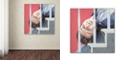 "Trademark Global Nick Bantock 'Man Down' Canvas Art, 18"" x 18"""