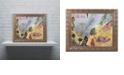 "Trademark Global Nick Bantock 'Air Mail' Ornate Framed Art, 16"" x 20"""