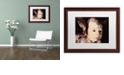 """Trademark Global Nick Bantock 'And What' Matted Framed Art, 16"""" x 20"""""""