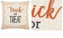 """Rizzy Home 20"""" x 20"""" Typography Poly Filled Pillow"""