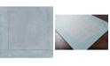 """Surya Mystique M-305 Medium Gray 18"""" Square Swatch"""