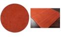 """Surya Mystique M-332 Burnt Orange 9'9"""" Round Area Rug"""