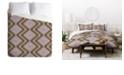 Deny Designs Holli Zollinger Native Natural Plus Pink King Duvet Set