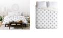 Deny Designs Holli Zollinger French Linen Ikat Dot Twin Duvet Set