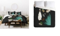Deny Designs Holli Zollinger Desert Botanical Yucca Twin Duvet Set