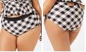 Raisins Curve Trendy Plus Size Juniors' Latitude Island High-Waist Bikini Bottoms