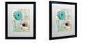 "Trademark Global Color Bakery 'Beach Poppies Ii' Matted Framed Art, 16"" x 20"""