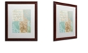 """Trademark Global Color Bakery 'Live Your Dreams' Matted Framed Art, 16"""" x 20"""""""