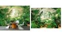 Brewster Home Fashions Wintergarden Wall Mural