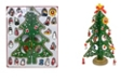 Jeco Christmas Tree Table Stand Decor With Ornament