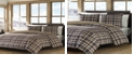 Eddie Bauer Port Gamble Dusted Indigo Twin Comforter Set