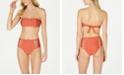 Volcom Juniors' Bandeau Bikini Top & High-Waist Bottoms