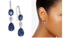 Charter Club Crystal Triple Drop Earrings, Created for Macy's