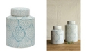 3R Studio Small Decorative Ceramic Ginger Jar w/Lid