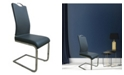 New Spec Inc New Spec Modern U-Shape Dining Chair Set of 4 Pieces