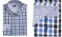 Michelsons of London Men's Slim-Fit Multi Check Dress Shirt
